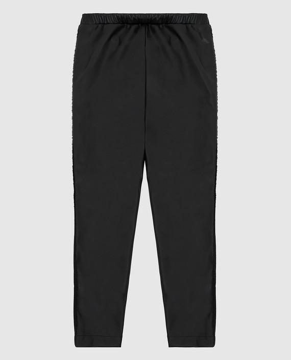 Детские черные брюки hover
