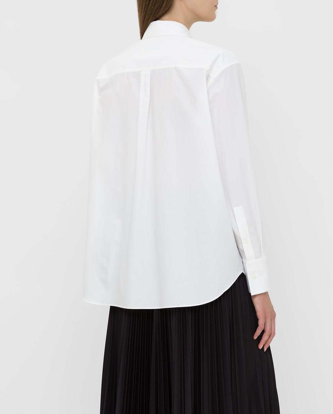 Valentino Белая рубашка SB0AB15H52H изображение 4
