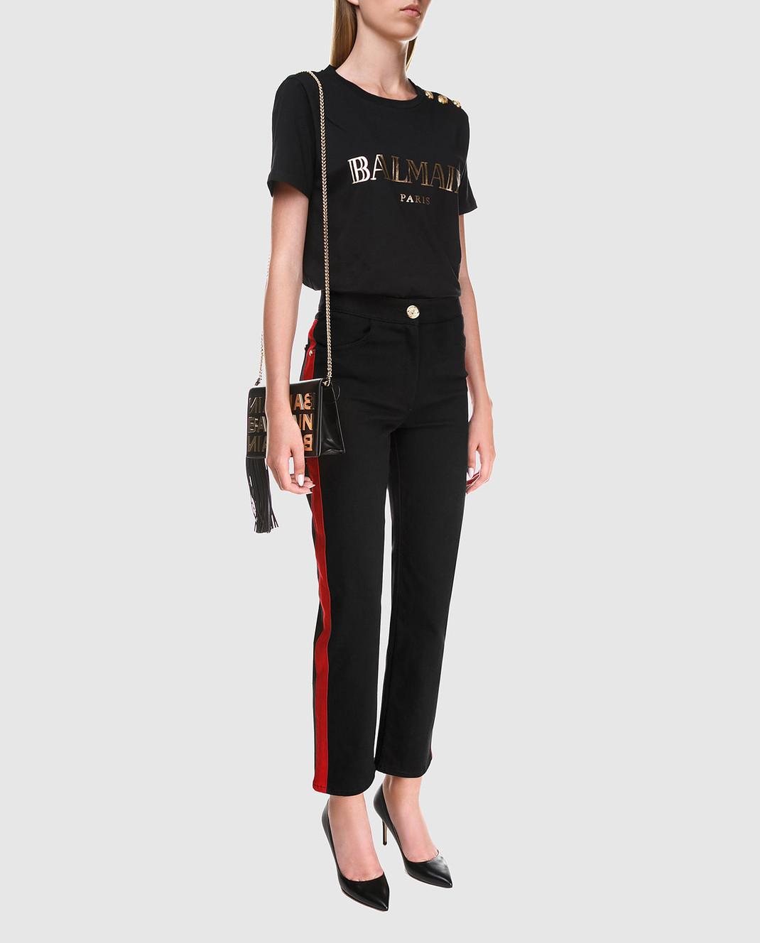 Balmain Черные джинсы 145481 изображение 2