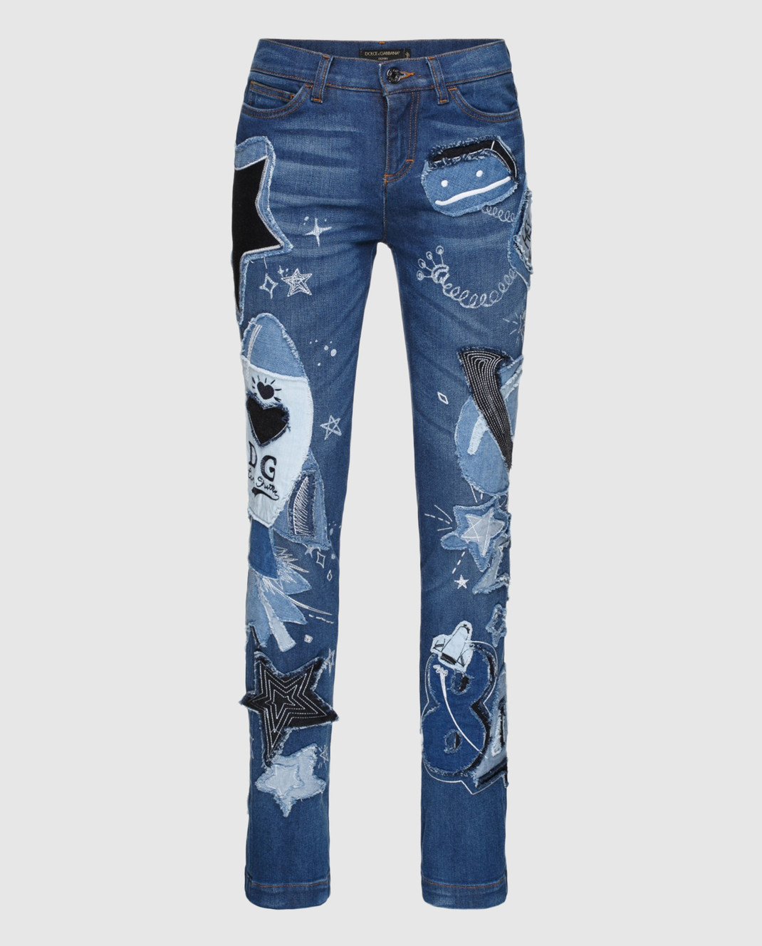 Dolce&Gabbana Синие джинсы FTAY1DG888B