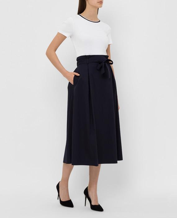 Темно-синяя юбка hover
