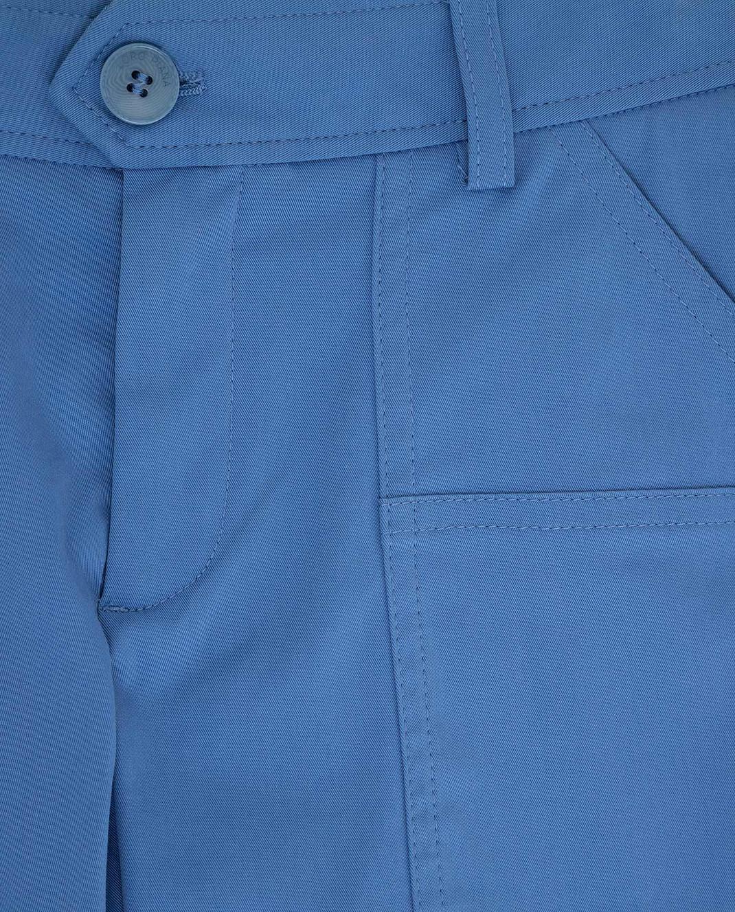 Loro Piana Детские синие шорты F1FAG1907 изображение 3