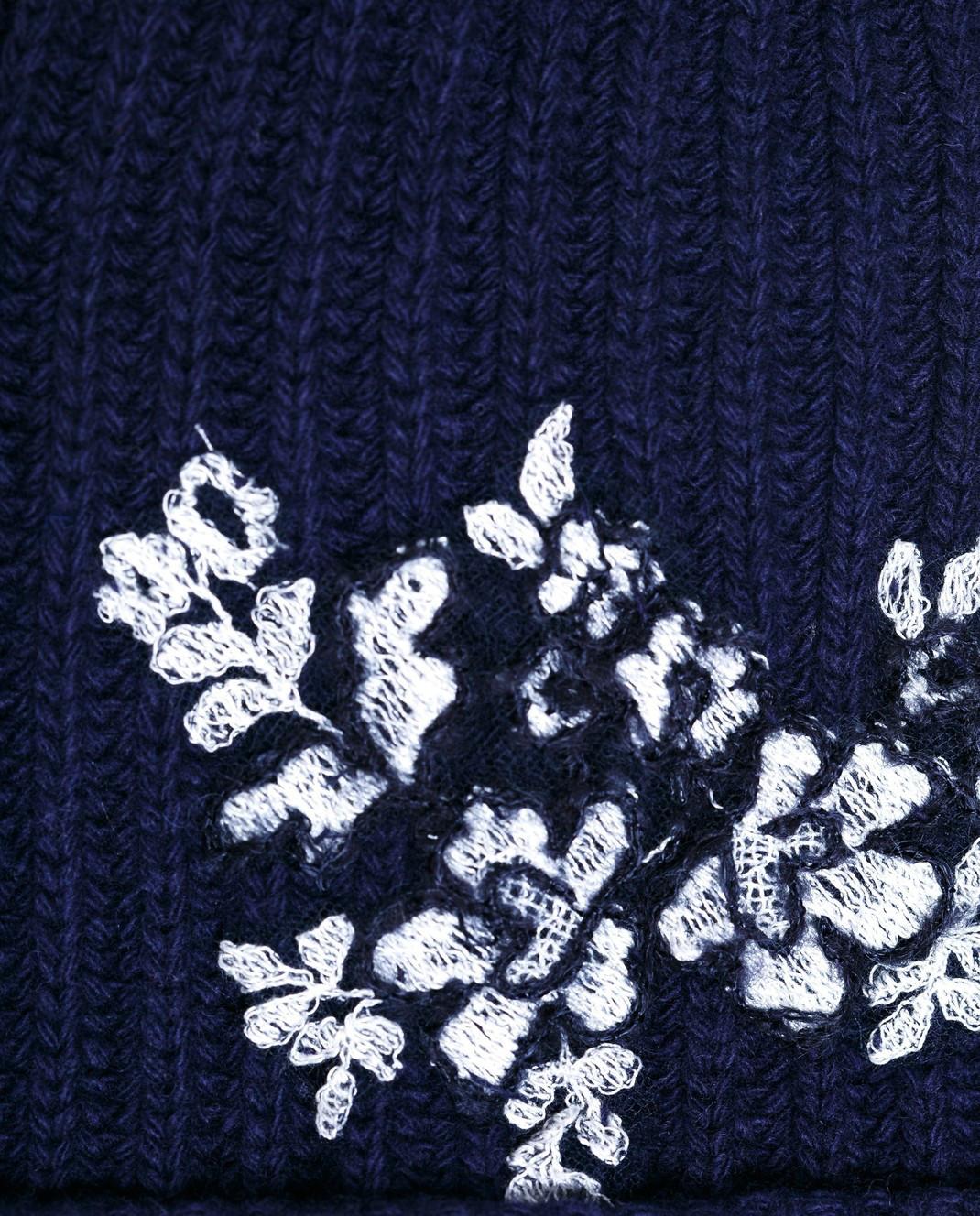 Ermanno Scervino Синяя шапка  PP01V228 изображение 3
