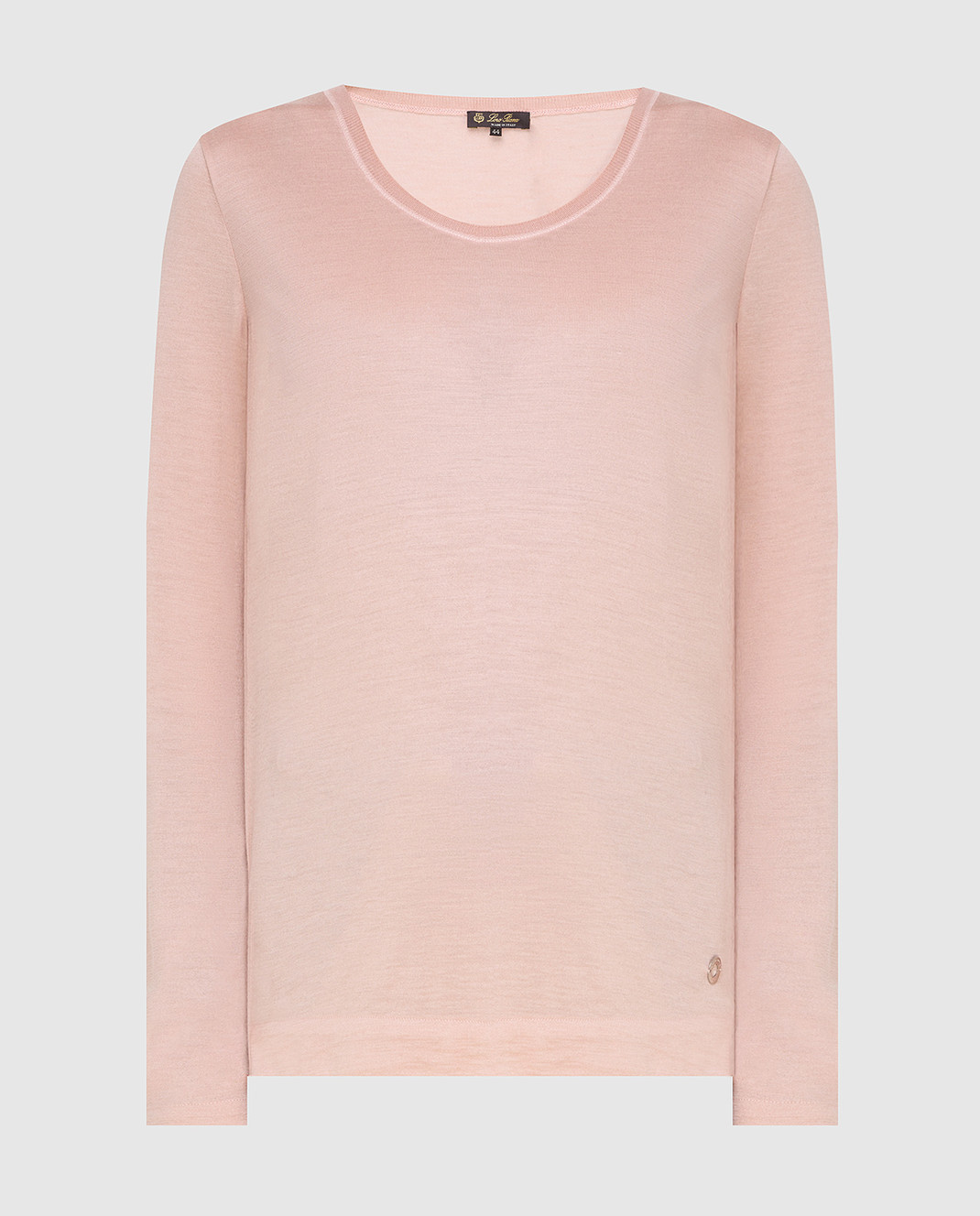Loro Piana Розовый джемпер из кашемира и шелка F2FAE5730