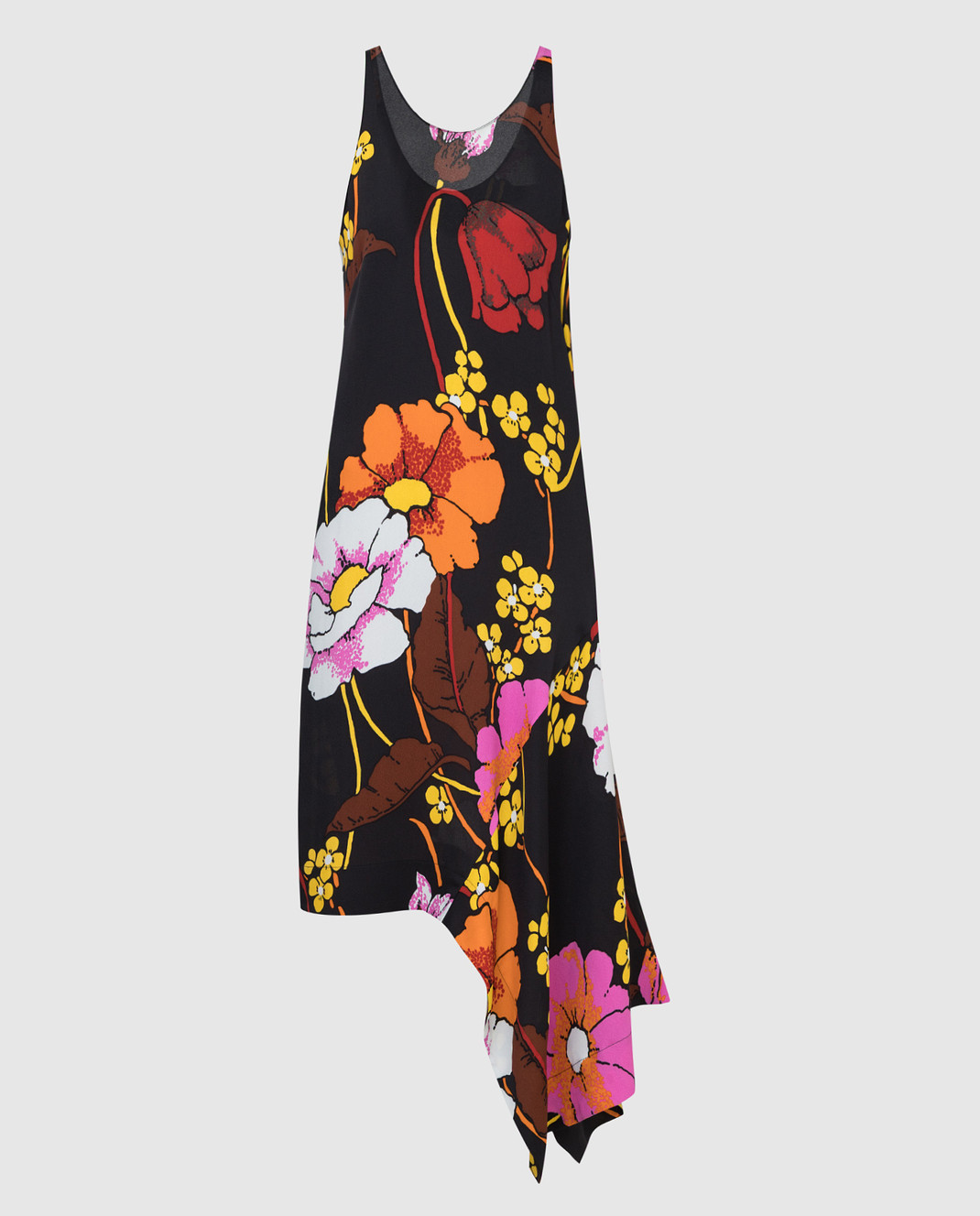 Marni Черное платье ABMAT50A00TV457