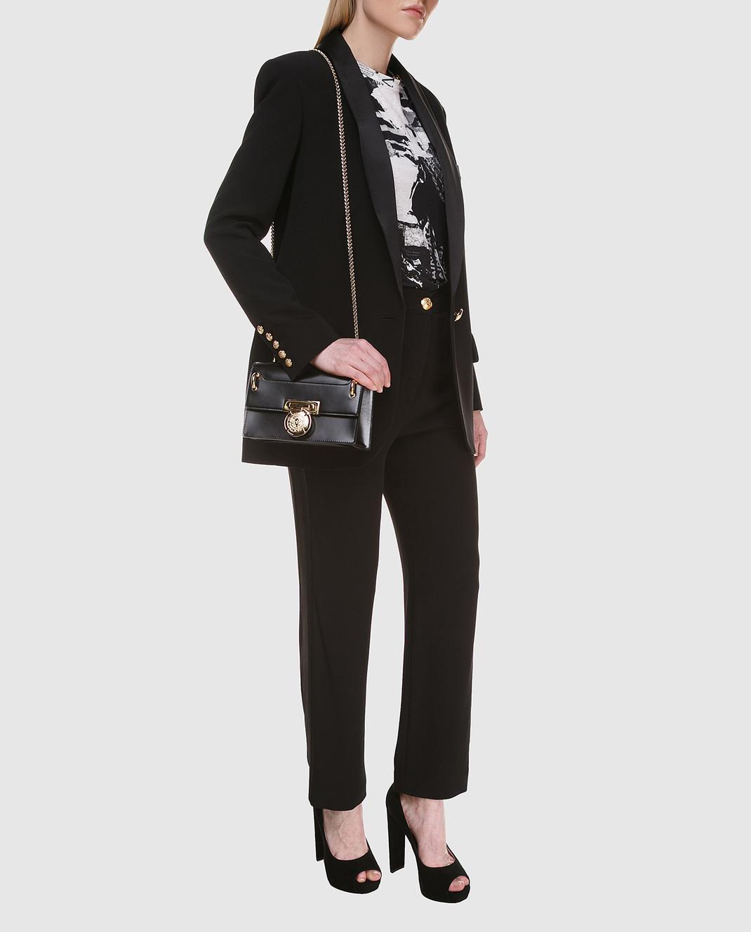 Balmain Черные брюки изображение 2