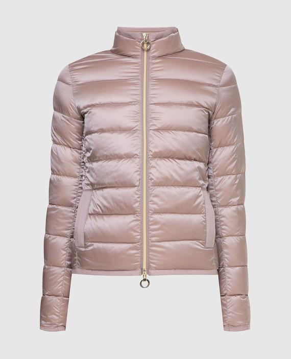 Темно-розовая куртка
