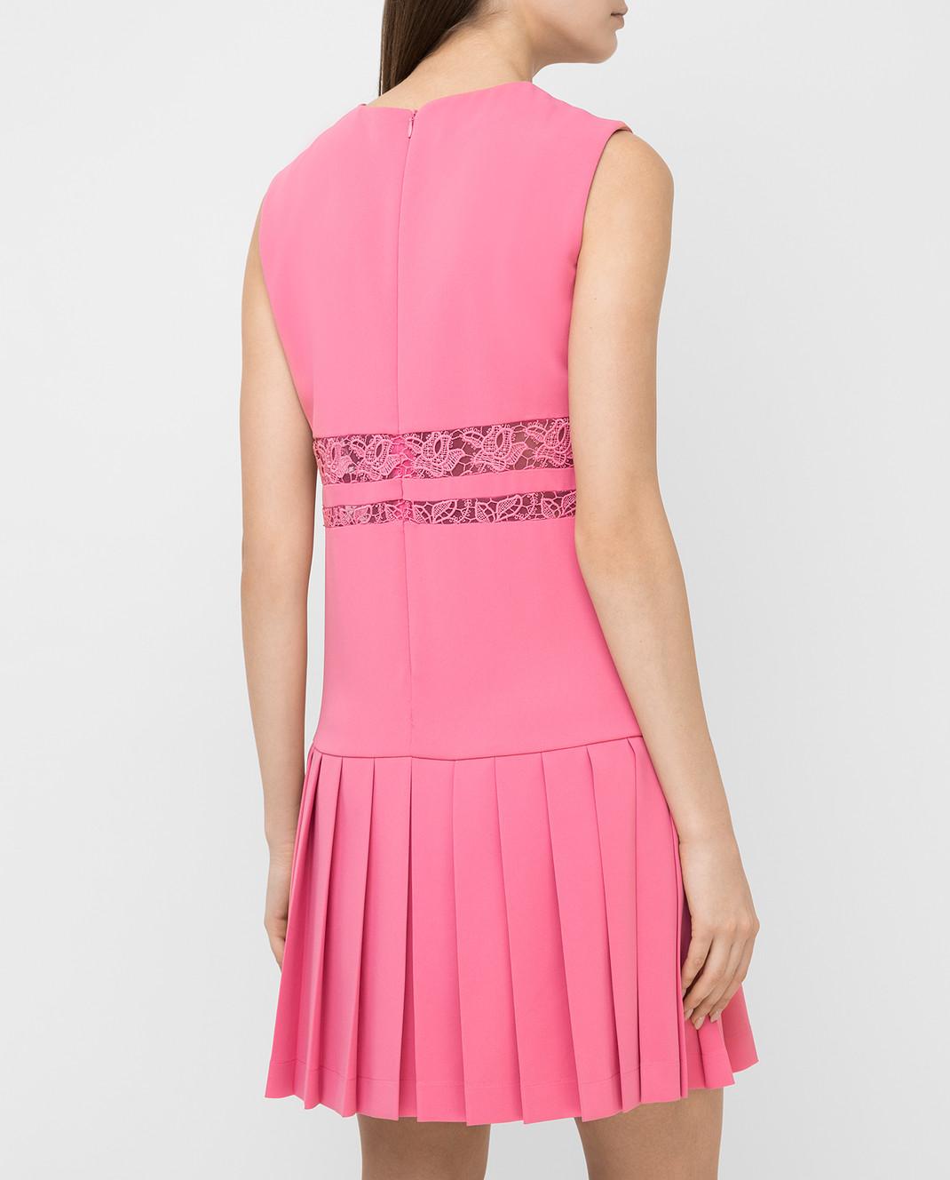 Ermanno Scervino Розовое платье изображение 4