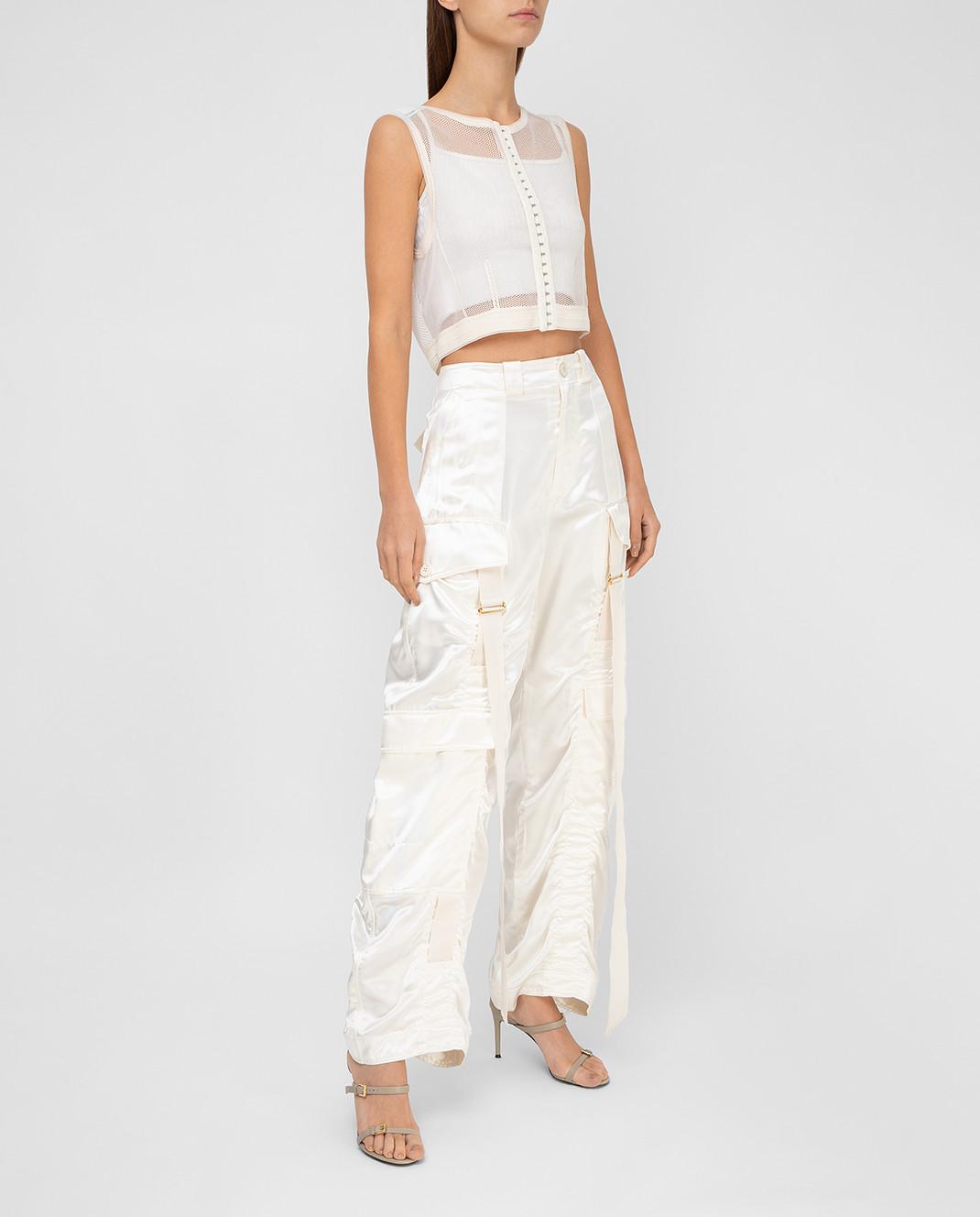 Balenciaga Светло-бежевые брюки изображение 2