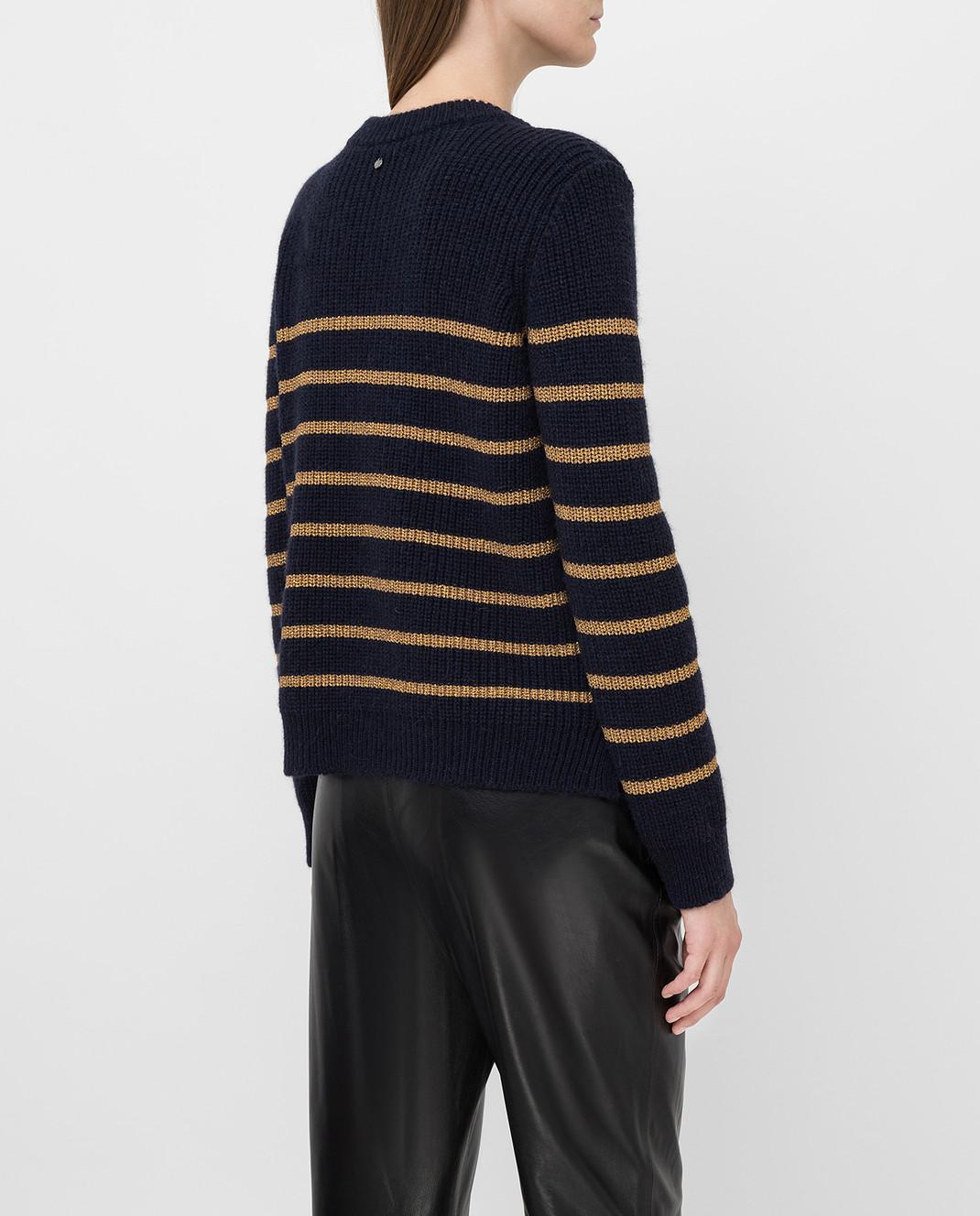 Twin Set Темно-синий свитер изображение 4