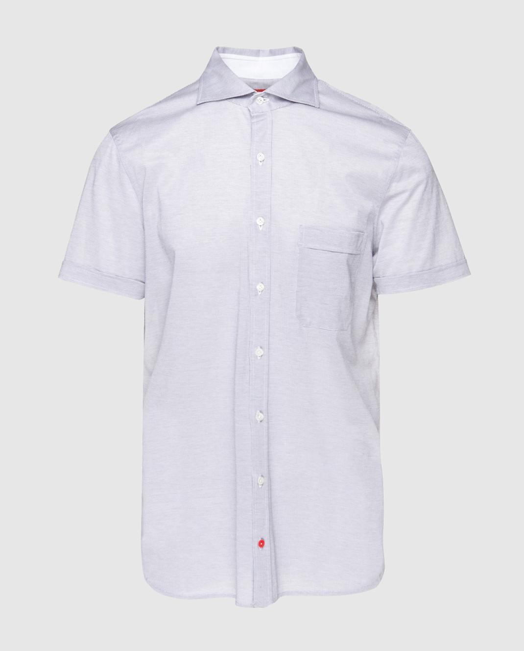 ISAIA Серая рубашка CAJ005J0049