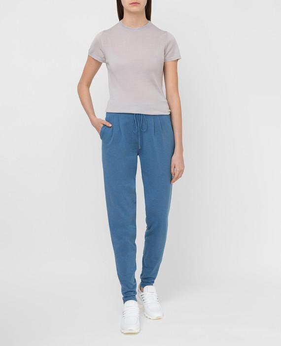 Синие спортивные брюки hover