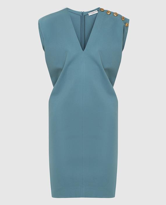 Светло-бирюзовое платье