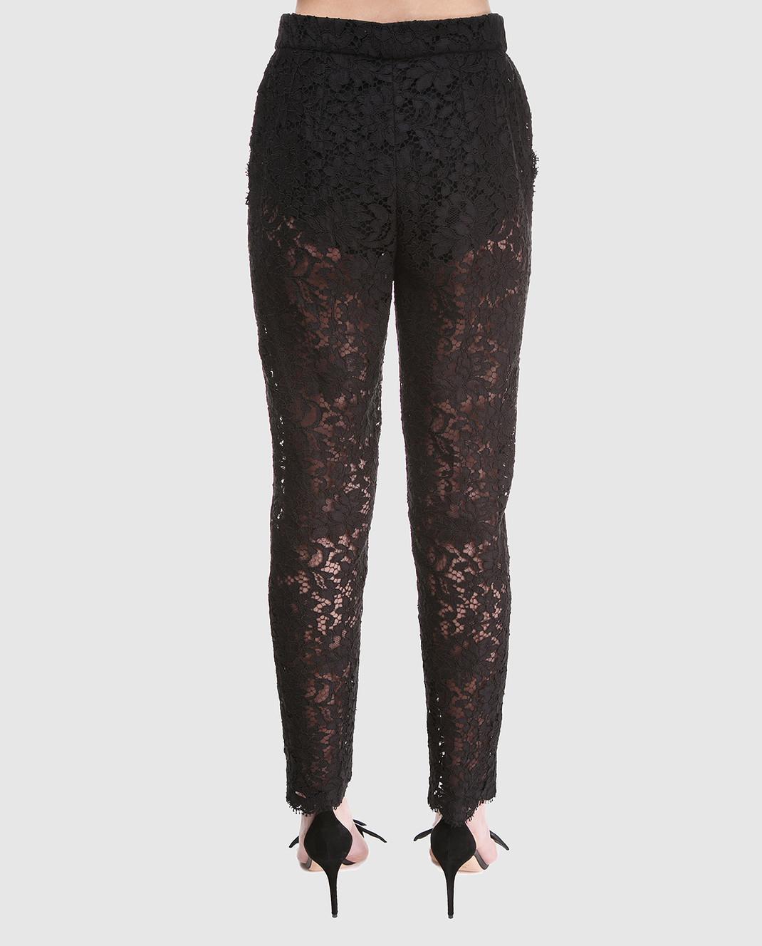 Dolce&Gabbana Черные брюки FTAZATHLMCL изображение 4