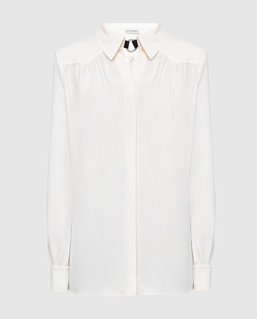 Altuzarra Светло-бежевая блуза изображение 1