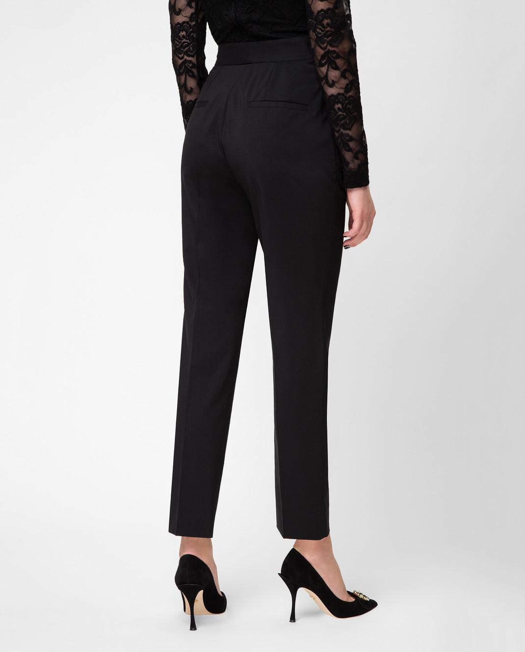 Dolce&Gabbana Черные брюки FTAM2ZFUBBG изображение 4