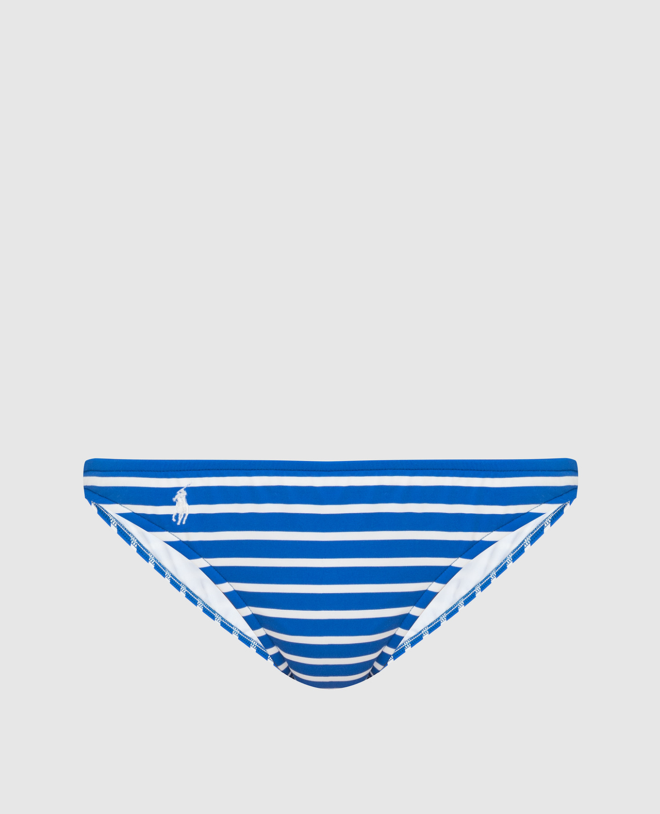 Синие трусики от купальника