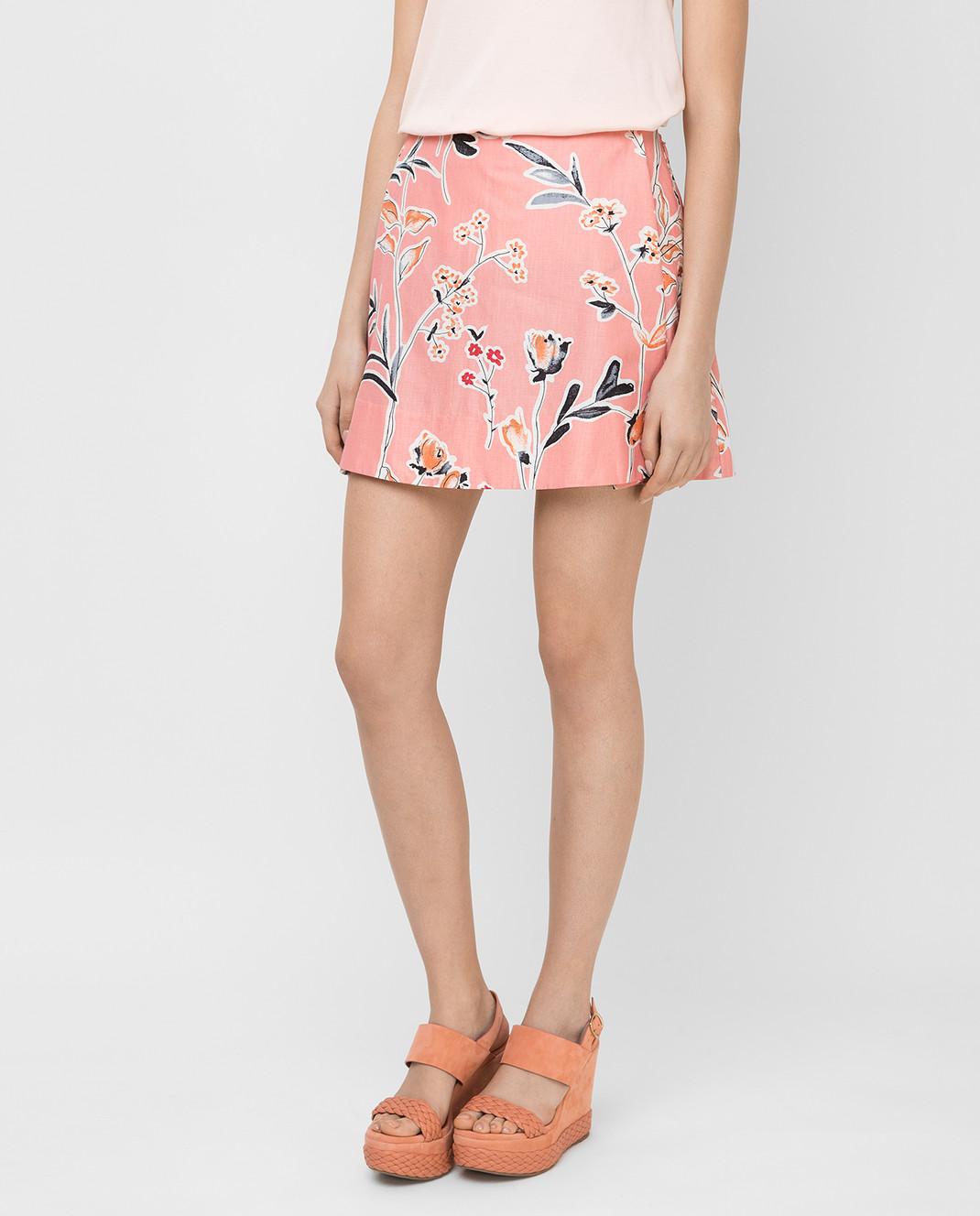 Marni Розовая юбка GOMAR35A00TCR58 изображение 3