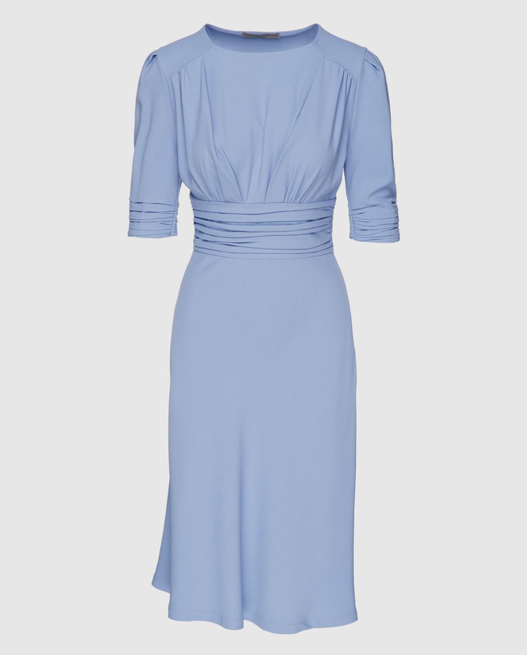 Ermanno Scervino Голубое платье D322Q313LHU