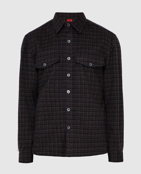 Рубашка из шерсти и кашемира