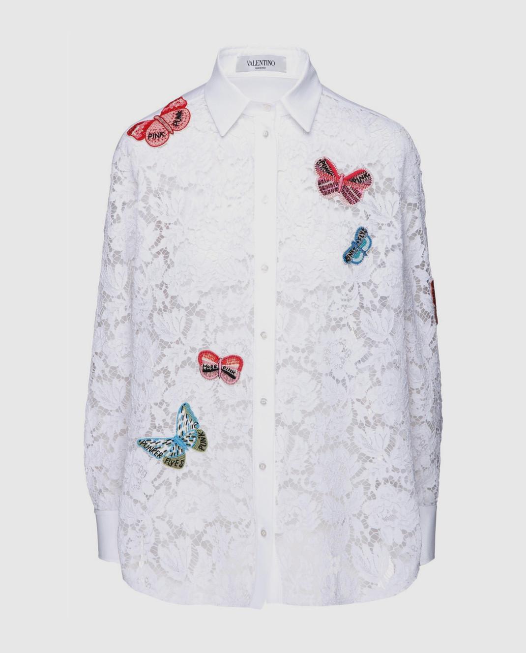 Valentino Белая блуза  PB3AB0U51EC