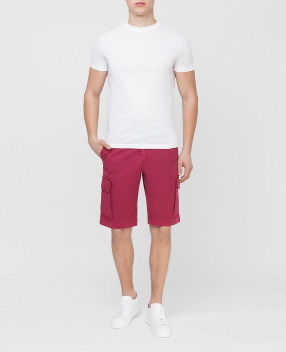 Бордовые шорты hover
