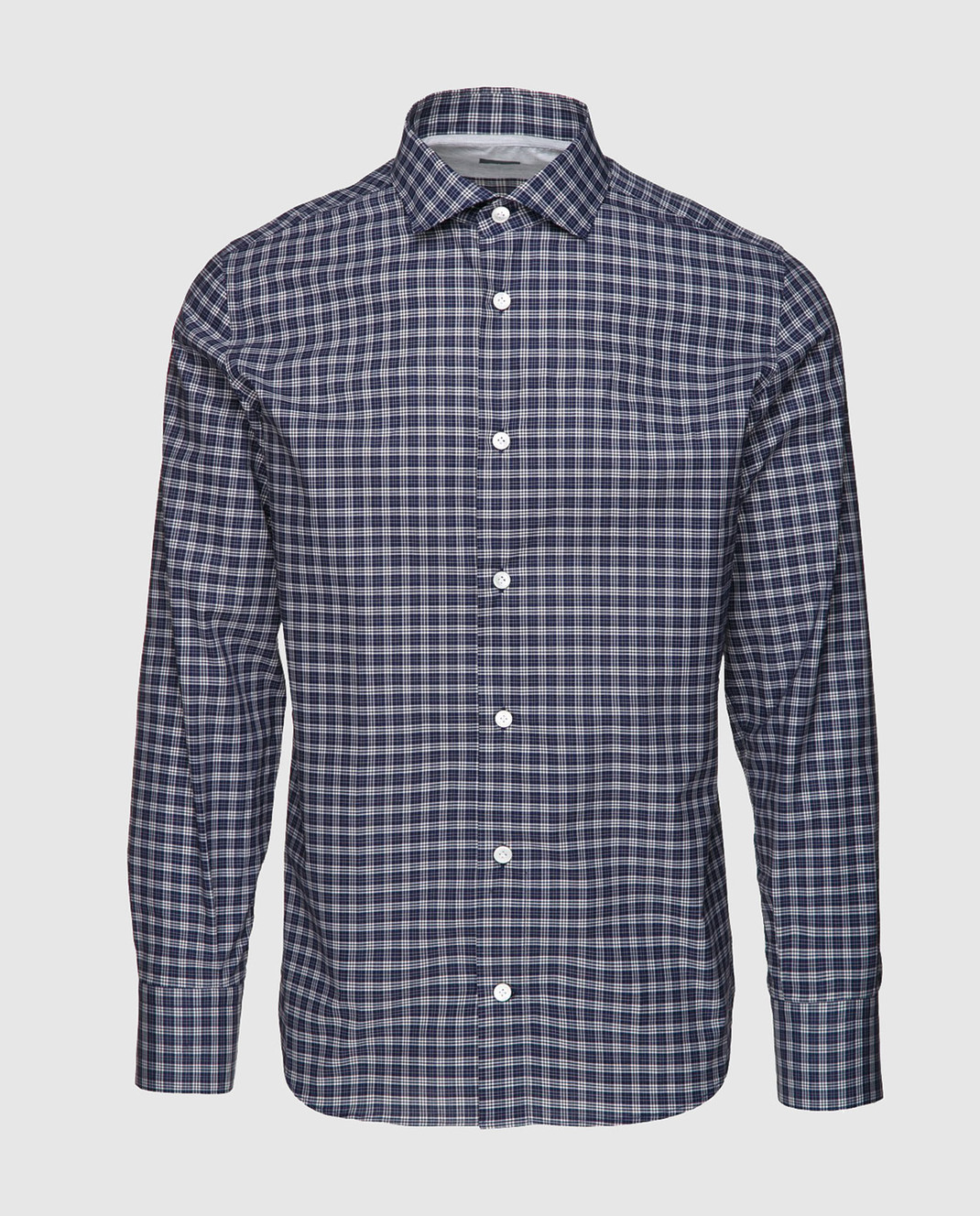 Eleventy Темно-синяя рубашка 979CA0001CAM24015