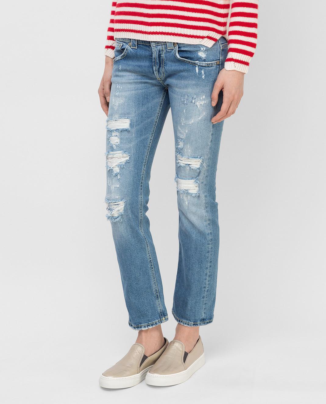 Dondup Синие джинсы P857 изображение 3