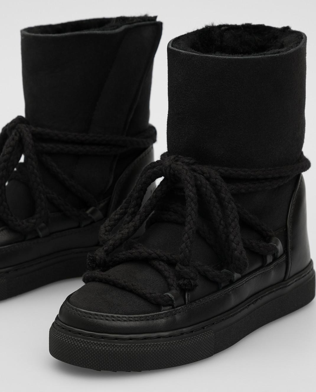 Inuikii Детские черные ботинки изображение 4