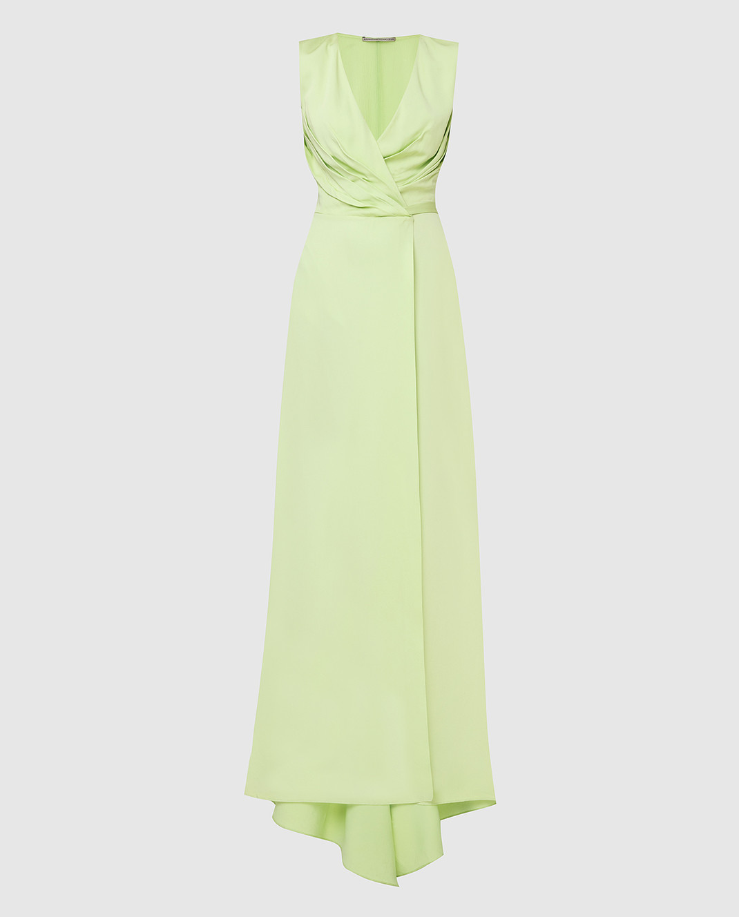 Ermanno Scervino Зеленое платье D282Q397DVY