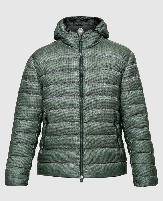Зелёная куртка