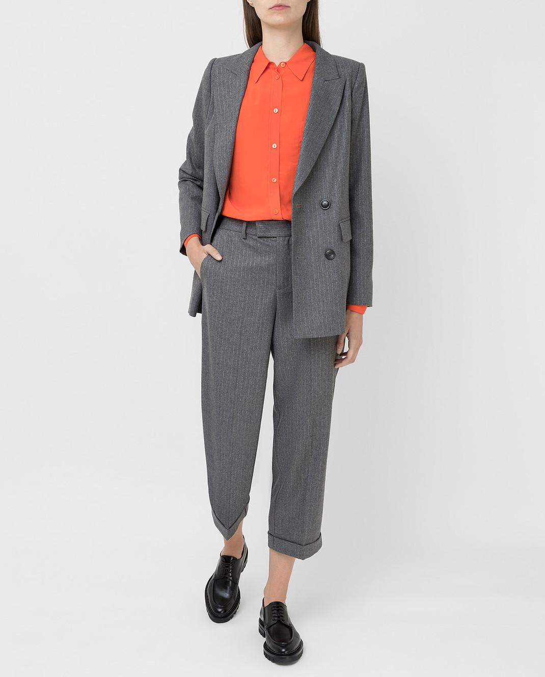 Twin Set Серые брюки изображение 2