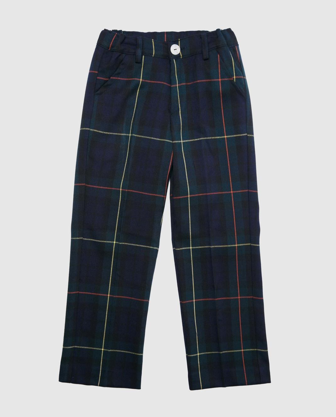 CAF Детские синие брюки 52SP25
