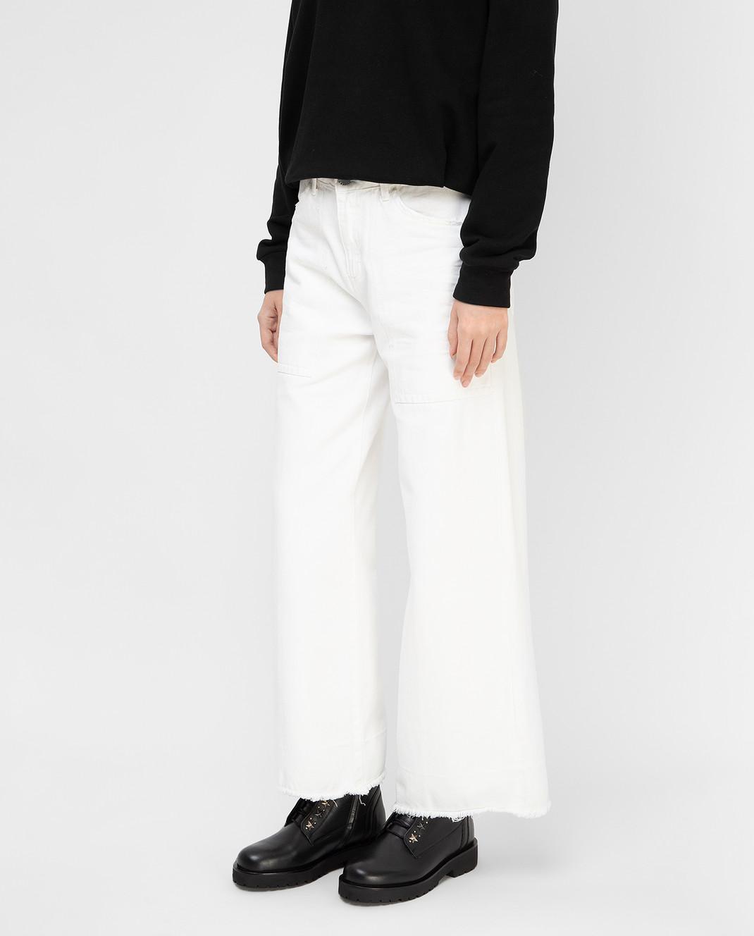 Twin Set Белые джинсы PS72S6 изображение 3