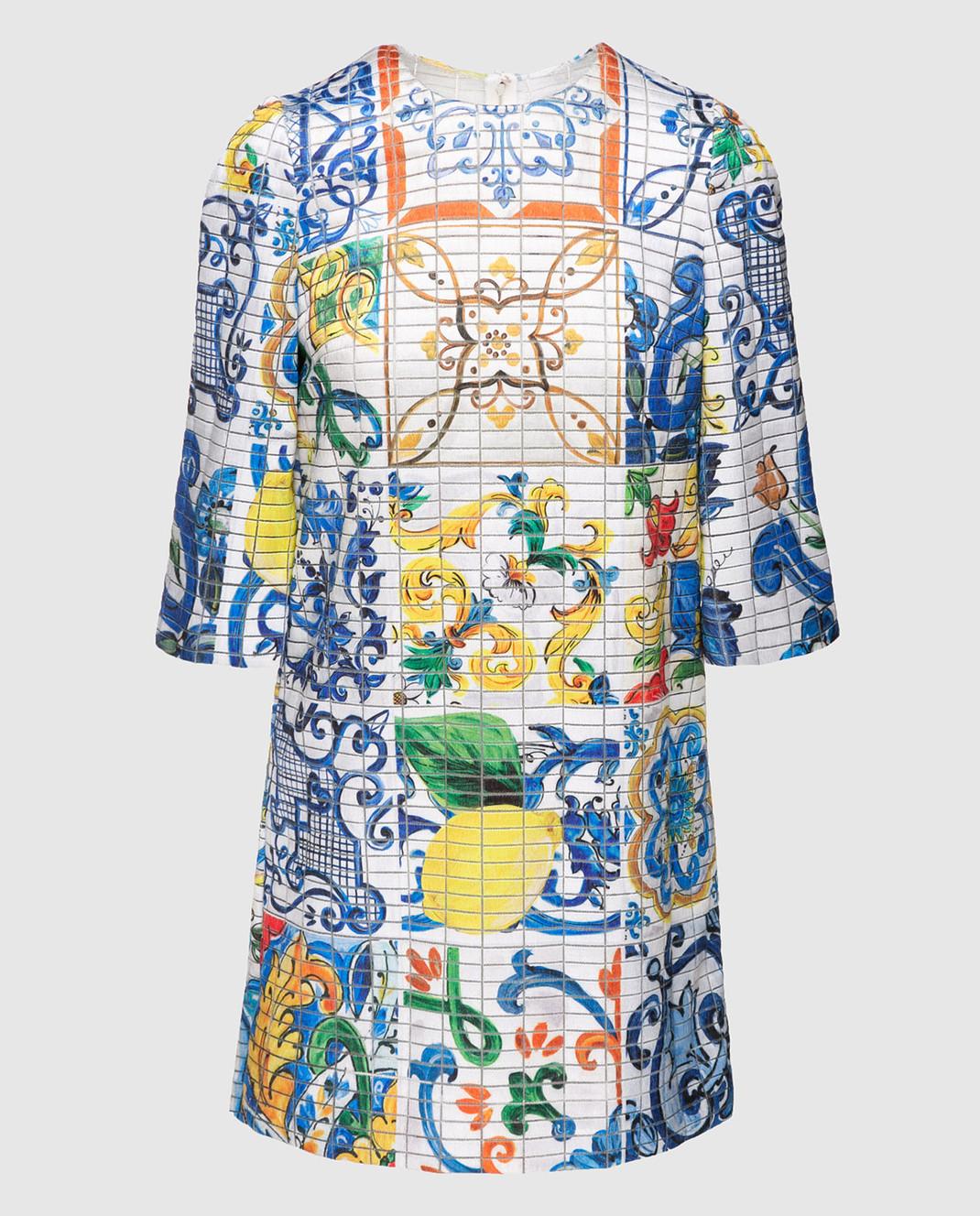 Dolce&Gabbana Платье из шелка F69U8THSMRW