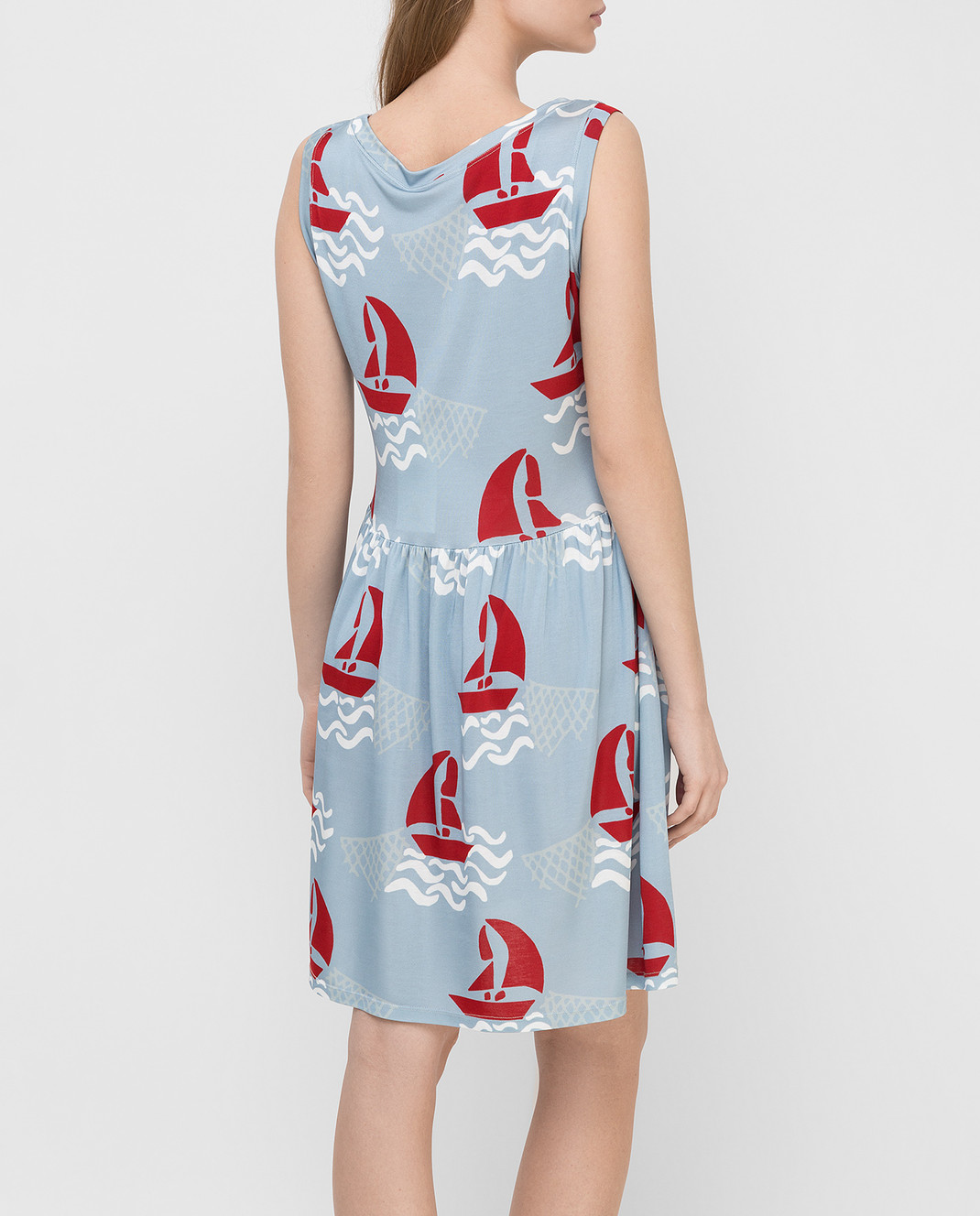 Tak.Ori Голубое платье DR010 изображение 4