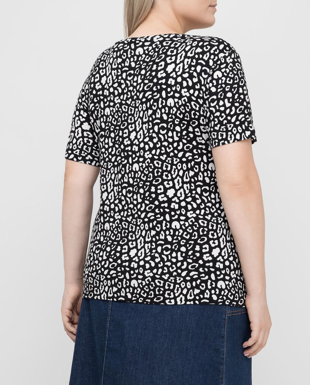 Marina Rinaldi Черная футболка изображение 4