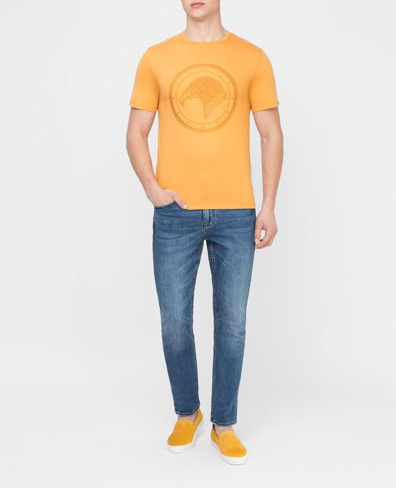 Оранжевая футболка hover