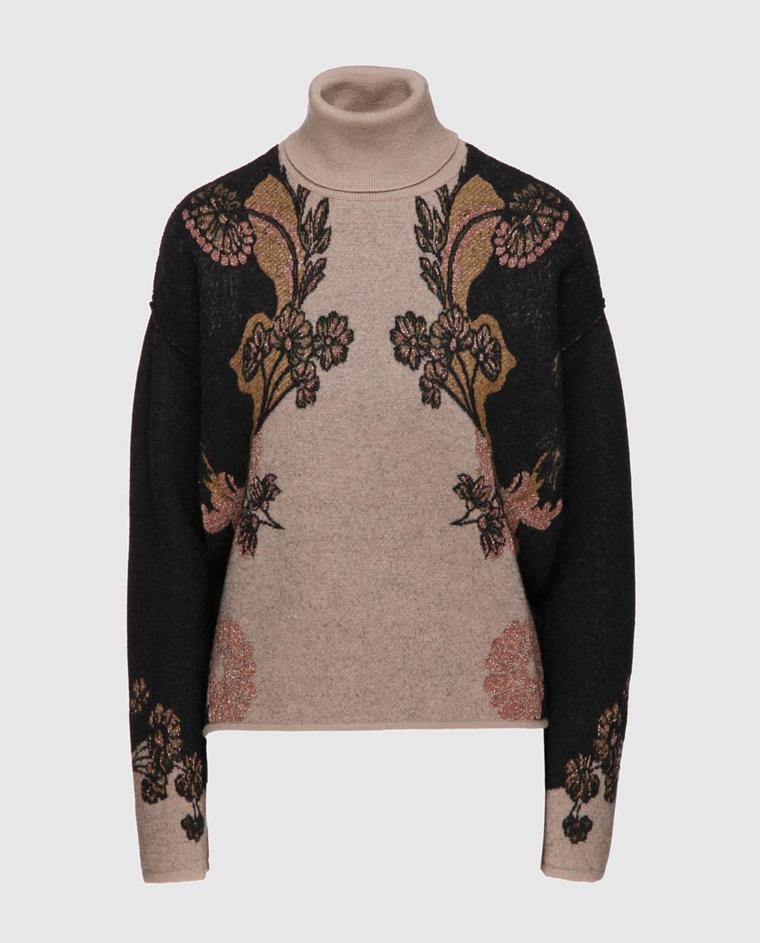 Etro Коричневый свитер из шерсти D156239303