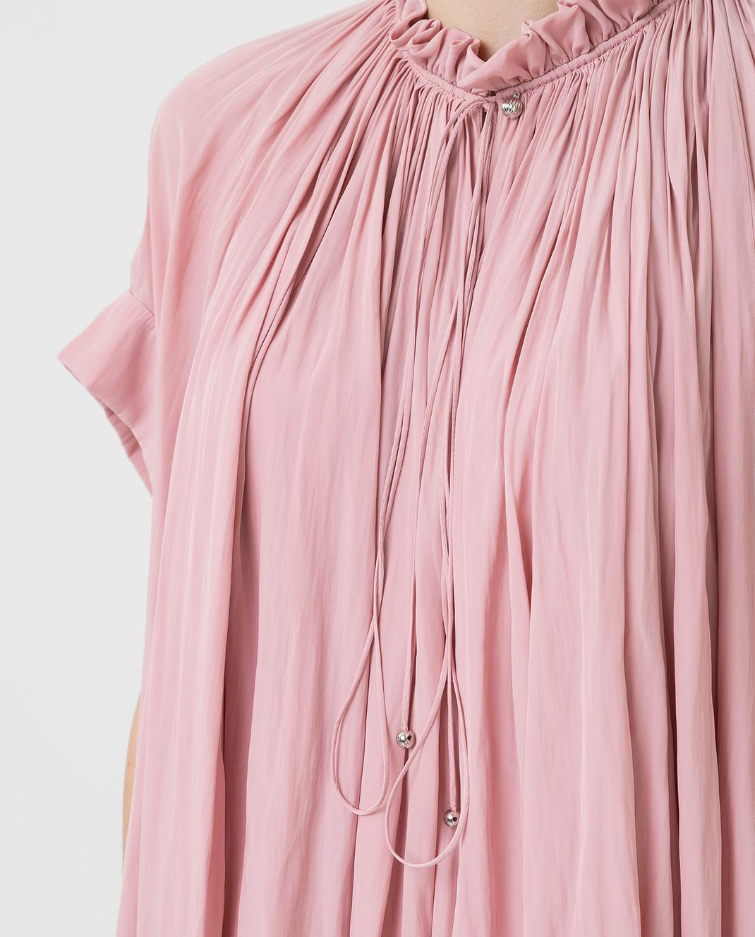 Lanvin Розовая блуза изображение 5