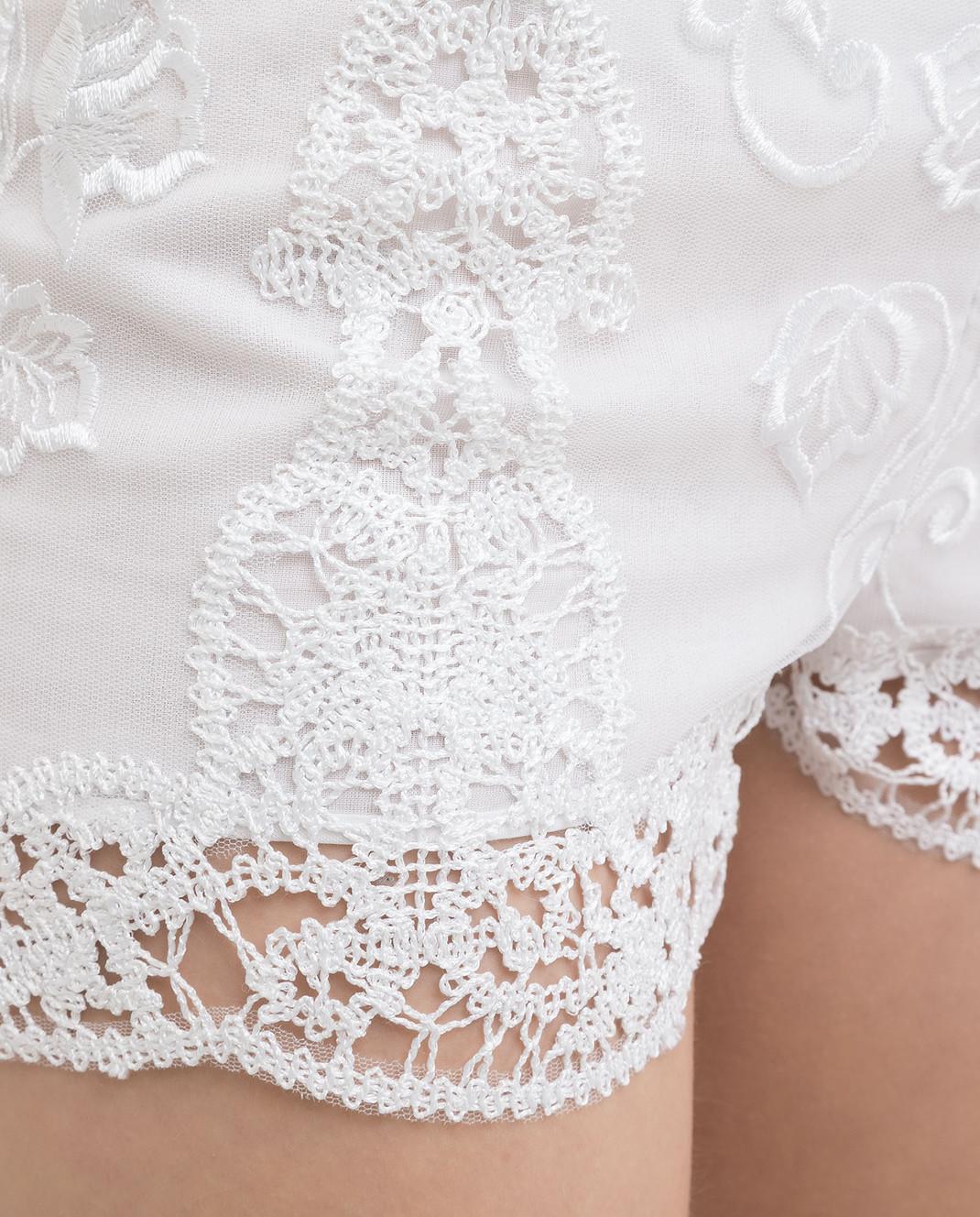 Charo Ruiz Белые шорты 00372 изображение 5