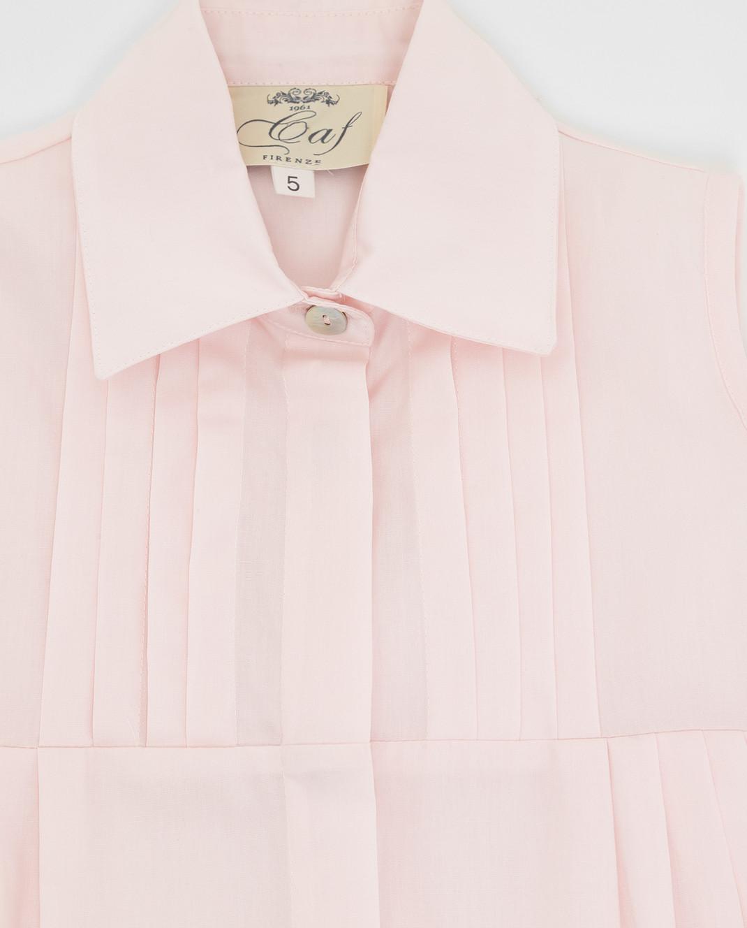 CAF Детское розовое платье 409PO56 изображение 3