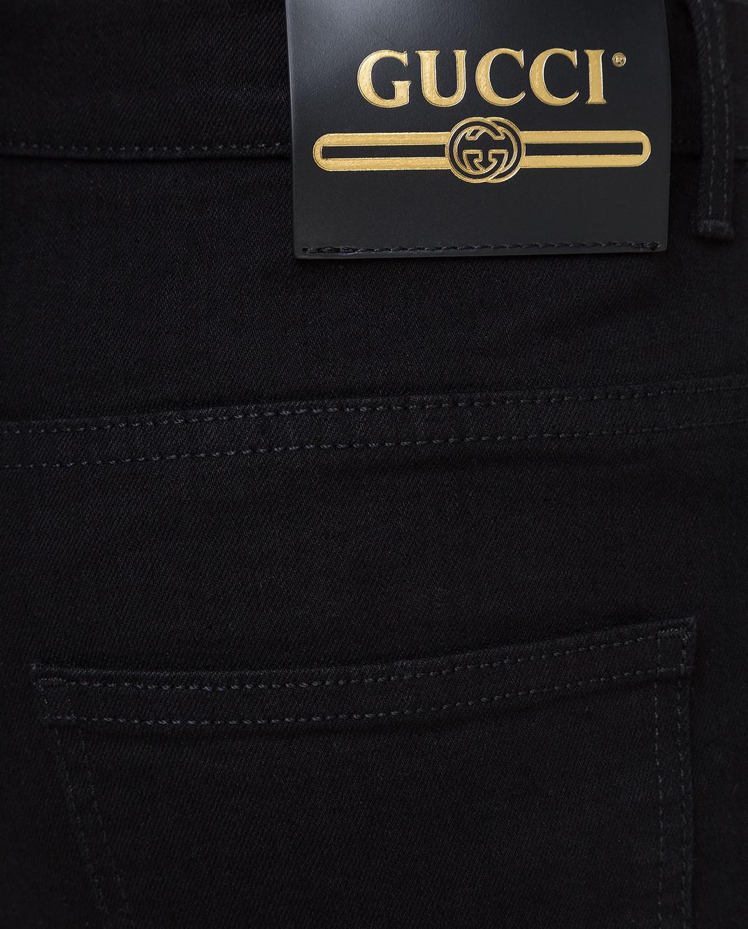 Gucci Черные джинсы 543712XDAHN изображение 5