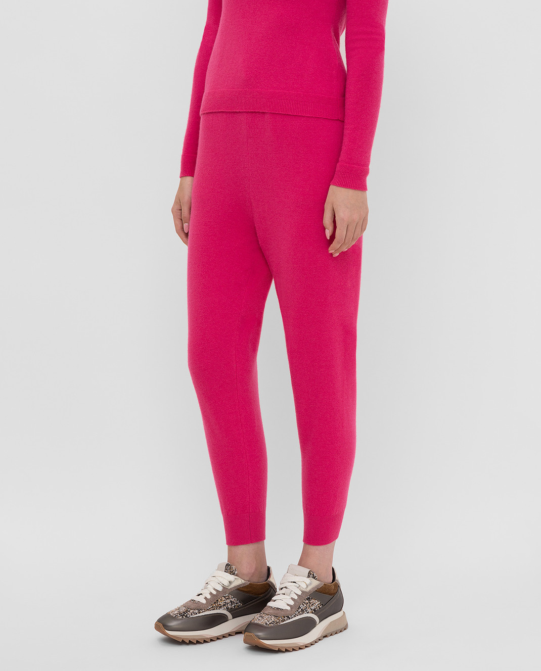Tak.Ori Малиновые спортивные брюки изображение 3