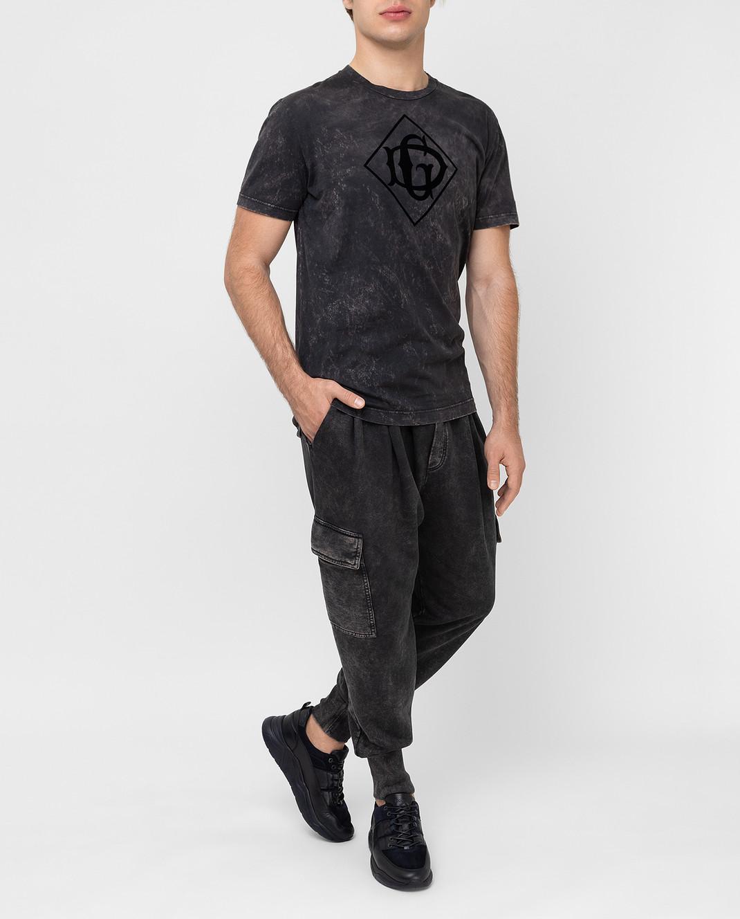 Dolce&Gabbana Темно-серые карго изображение 2