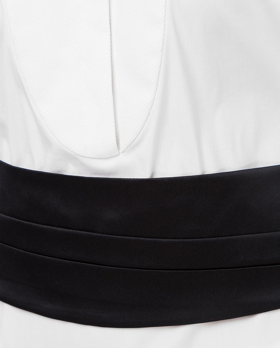 Brunello Cucinelli Белая рубашка M0091M6215 изображение 5