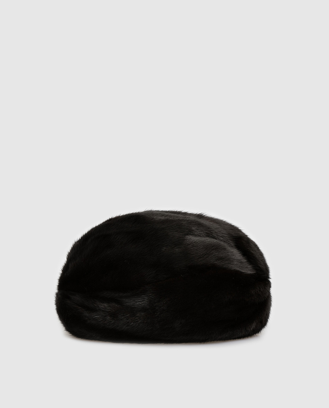 Simonetta Ravizza Черный тюрбан из меха норки TURBANTEBVISNE изображение 3