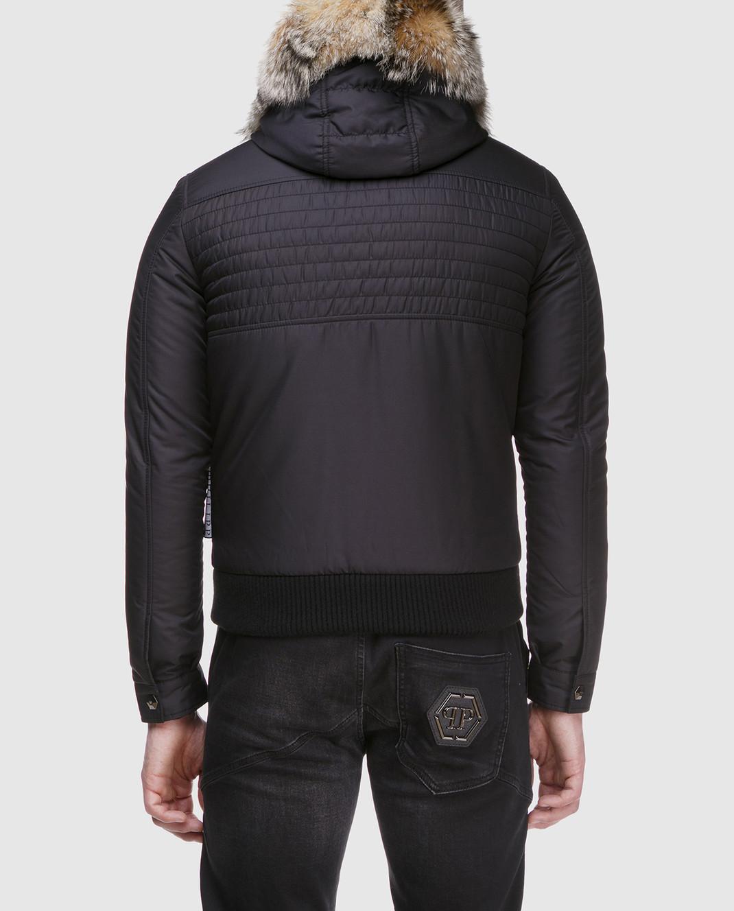 Philipp Plein Черная куртка MRB0340 изображение 4