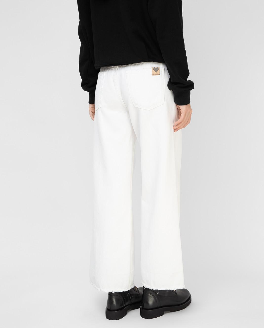 Twin Set Белые джинсы PS72S6 изображение 4