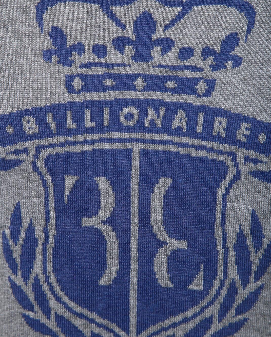 Billionaire Детский серый джемпер изображение 3
